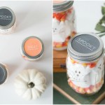 Halloween Mason Jar Treats + Free Printable Lid Labels