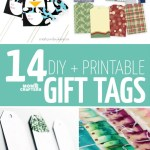 14 Printable + DIY Gift Tags