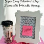 How to Print on PostIt Notes + Printable for Valentine's Day