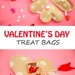 DIY Valentines Heart Treat Bags