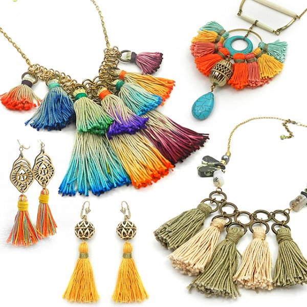 boho tassel jewelry