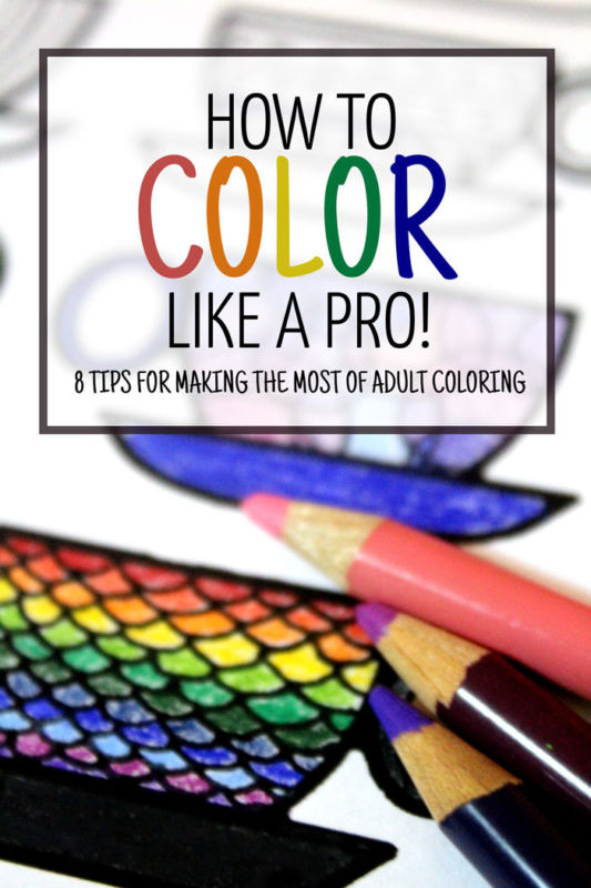 learn how to color like a pro � indie crafts