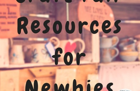 Craft Fair Resources for Newbies