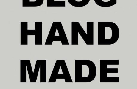 Blog Handmade Link Up