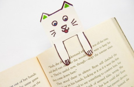 DIY Kitty Book Mark