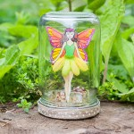 DIY Fairy In A Jar (with a free printable fairy!)