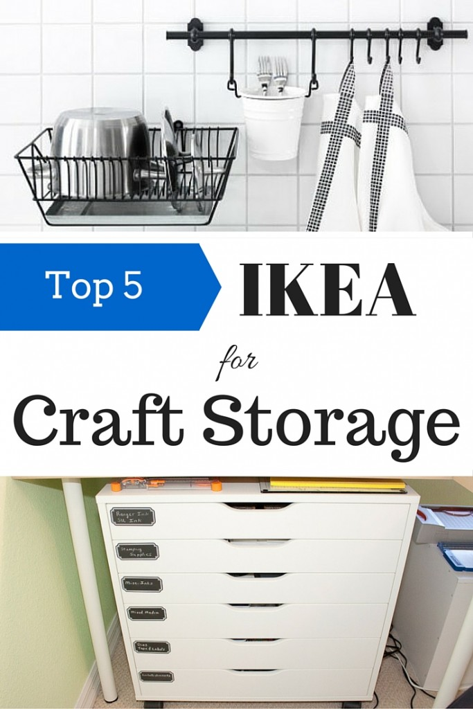 Five Ikea Products For Craft Storage Indie Crafts