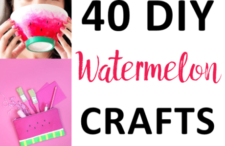 40 DIY Watermelon Craft Ideas