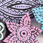 Turn Coloring Pages into Carved Wood Stamps