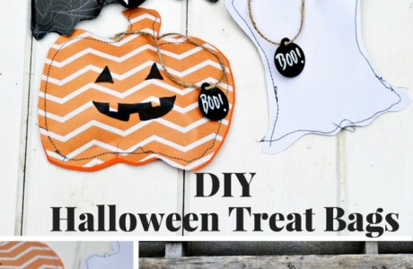 3 DIY Halloween Treats Bags to Make