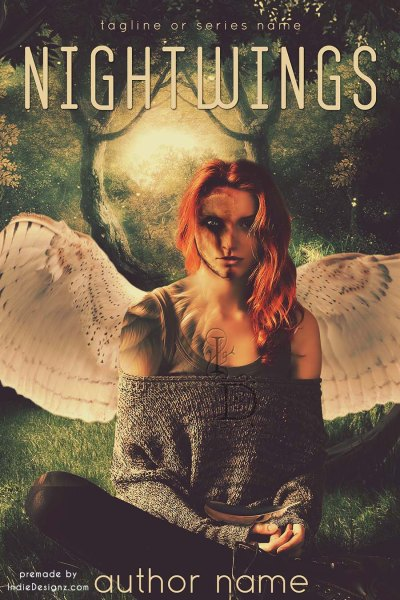 New Urban Fantasy Premade eBook cover 074 available for purchase at Indie Designz.com