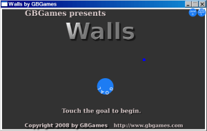 Walls title screen