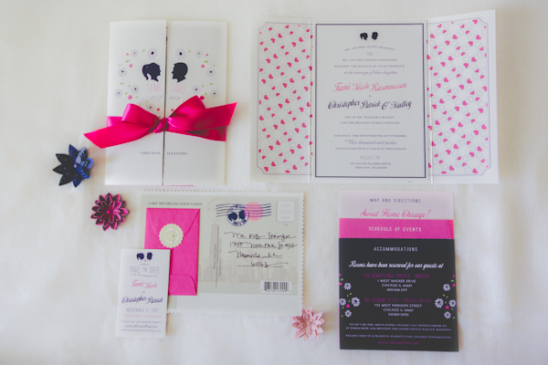 Indie Wed blog - TamTam Couture Invitations - Photography by Kristin LaVoie Photography