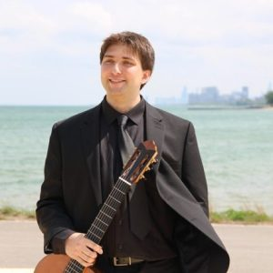Mitchell Green, Classical Guitarist Logo