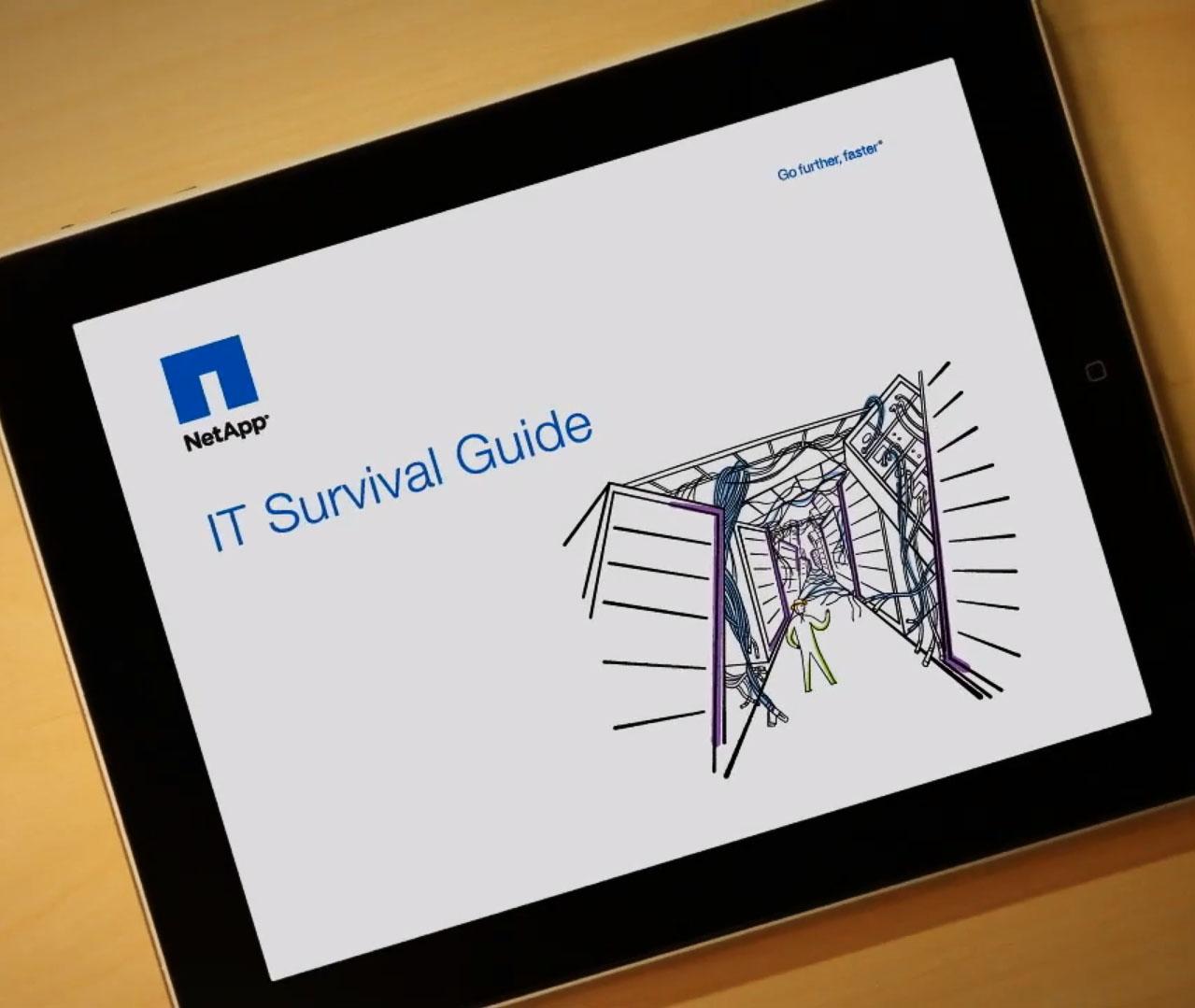 """NetApp – """"I.T. Survival Guide"""""""