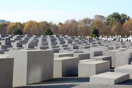 Berlin - Mémorial aux juifs assassinés lors de la seconde guerre mondiale