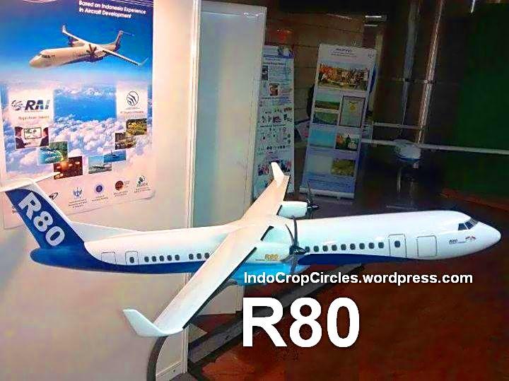 Pesawat R80 model plane