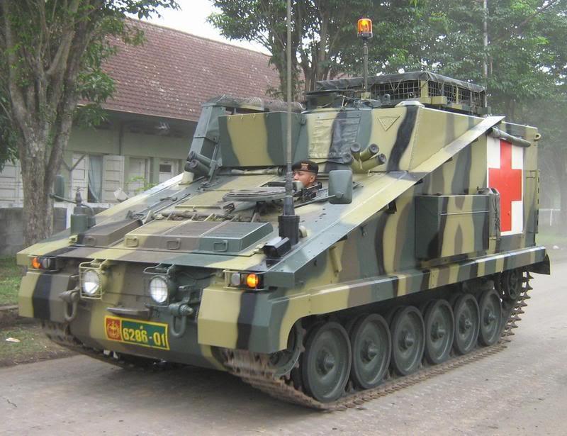Alvis Stormer : Tank APC Modern TNI-AD (2/6)