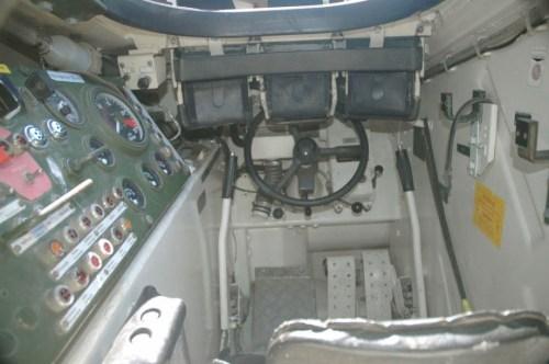 Kompartemen pengemudi Marder 1A3