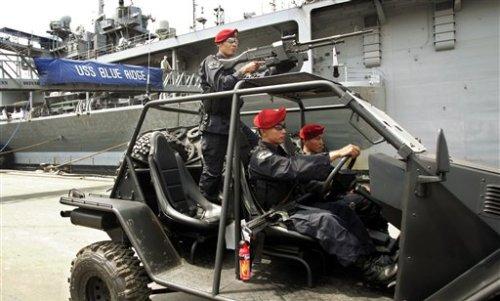 Indonesia US Navy Myanmar