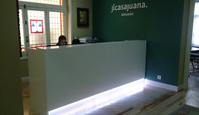 Recepción Abogados Casa Juana