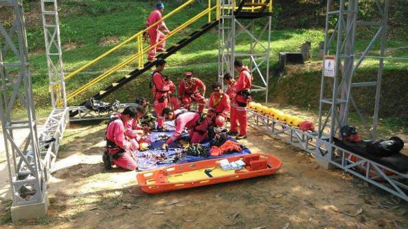 High Angle Rescue Training 1