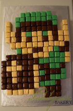 Legend of Zelda Pixel Cake
