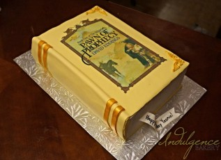 Fantasy Novel Cake