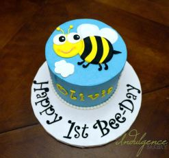 Happy Bee-Day Cake