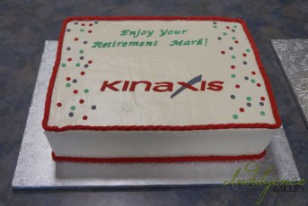 Retirement Party Cake