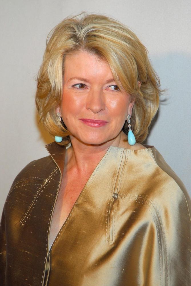 A photo of Martha Stewart.