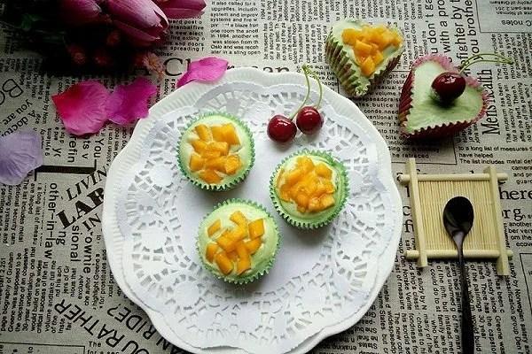 獨家 青汁奶油杯子蛋糕