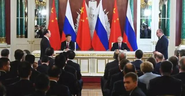 重磅!習近平和普京見證了人民日報一個大動作