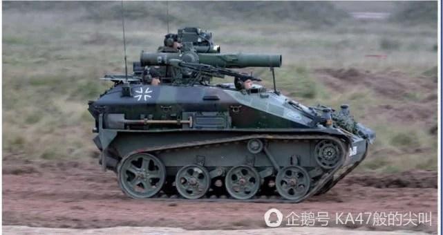 最小的步戰車,德國製造,名叫鼬鼠