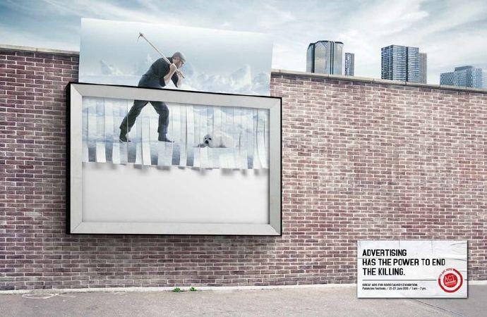 國外發人深省的公益廣告