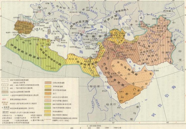 世界上國土面積最大的六大帝國,第一已超神,面積比整個亞洲還大