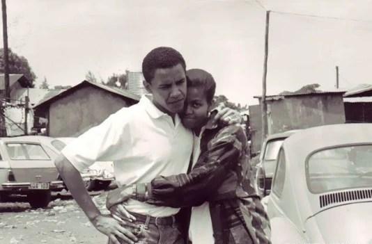 奧巴馬,前任美國總統,更是好男人