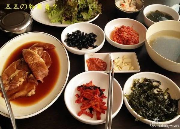 傳說中的韓國美食,除了泡菜還是泡菜