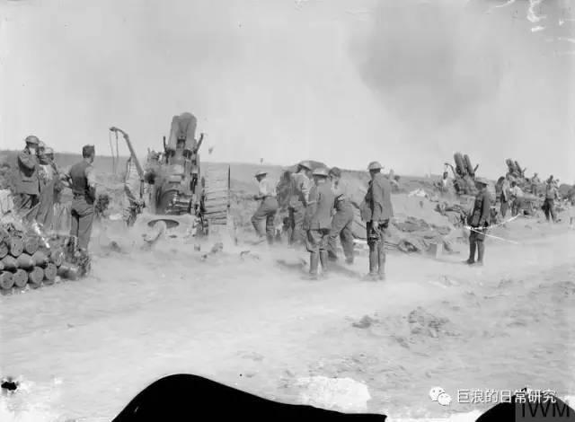 口徑即是正義!一戰期間使用重炮轟擊德軍的英國炮兵