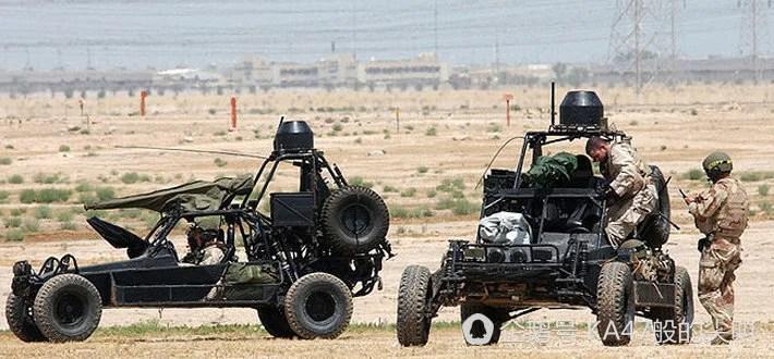 海灣戰爭中的飛毛腿,第一批進入科威特的軍用車