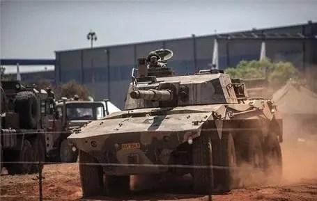 大山貓戰鬥車它沒有坦克的笨重,但有著坦克一樣的兇猛