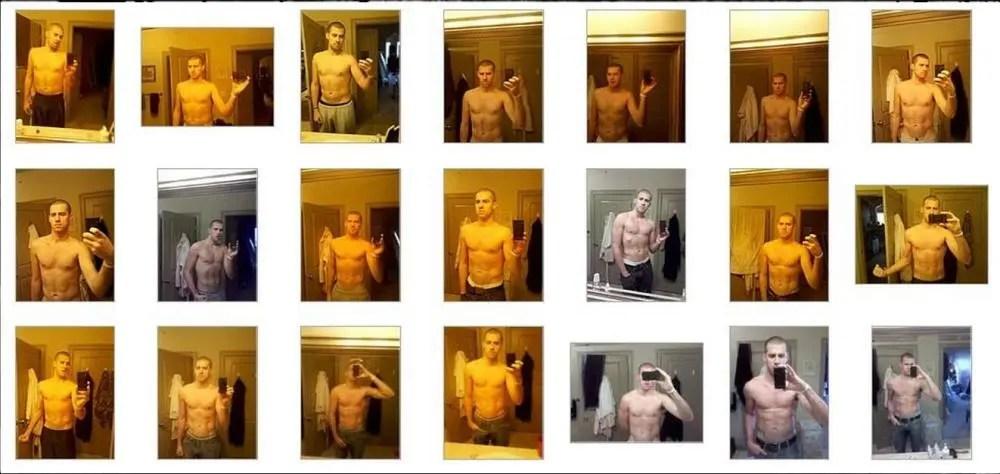 因超重被分手後瘋狂健身,一年後練出6塊腹肌!喜歡中國姑娘