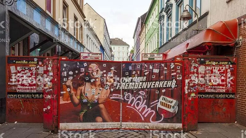 探秘德國漢堡歐洲最大的紅燈區