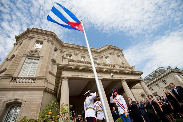 古巴是美國的死對頭,其境內卻有美國著名的海軍基地