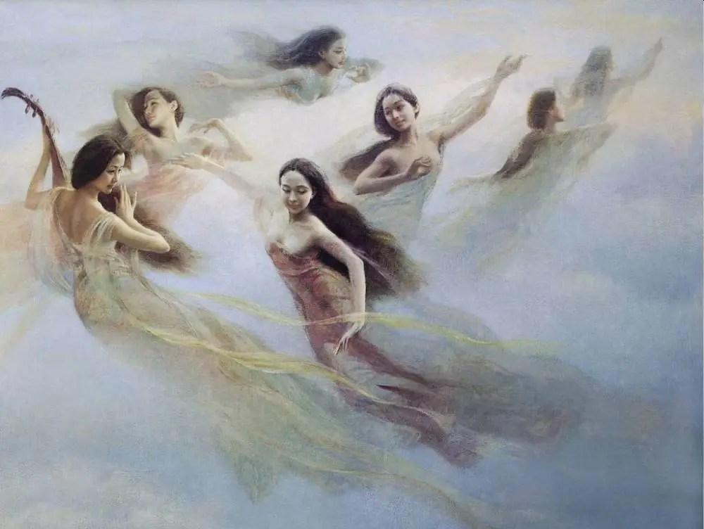 七仙女的身份之謎,她們到底是不是玉帝與王母的女兒?