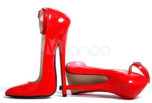 淘寶賣的90度角高跟鞋,到底怎麼穿?越想越好笑