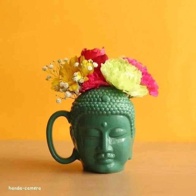 日本人把馬克杯做成大佛的模樣,用了會不會上西天?