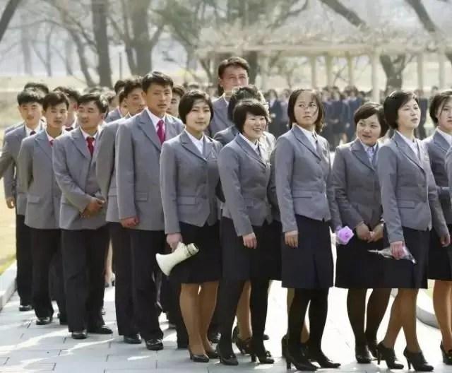 揭秘:朝鮮女人為何只穿裙子?