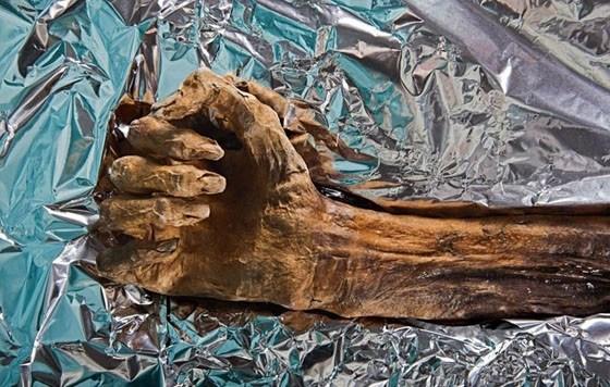 考古發現:罕見冰人木乃伊 冰封5300多年被挖出