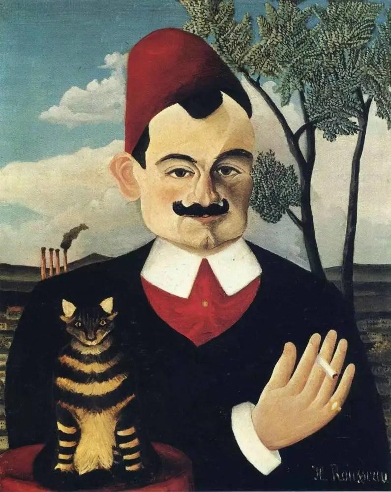 他是公務員,是窮苦畫家,畢加索為他辦派對,他影響了一連串現代先鋒藝術家